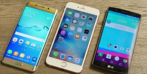 Samsung S6 vs iphone 6s vs LG G4