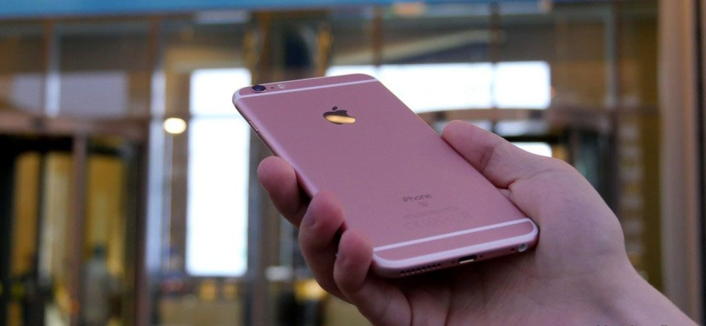 Review: iPhone 6s pink