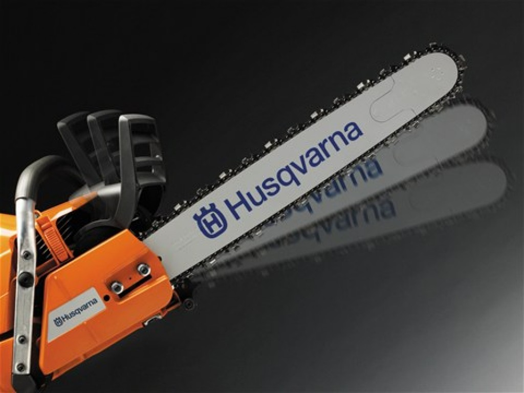 Husqvarna 450 - Chain Brake Feature for Safety