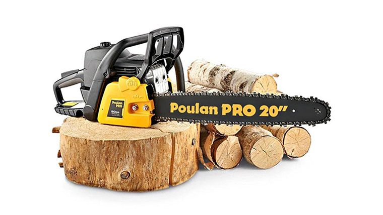 Best Gas Chainsaw for the Money No.4: Poulan Pro PP5020AV - Best Budget Gas Powered Chainsaw - under 300 dollars