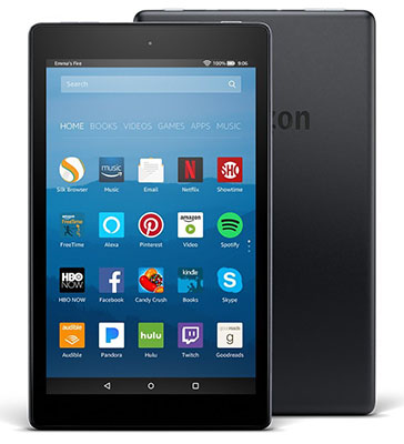 Best Vday Gifts for Her No.15: Amazon Fire HD 8 Tablet