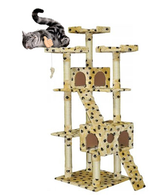Cat Gifts for Cat Lovers No.4: Cat Tree Condo