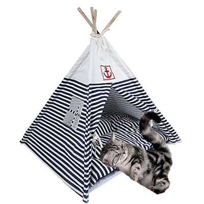 Cat Gifts for Cat Lovers No.3: Cat Tent Bed