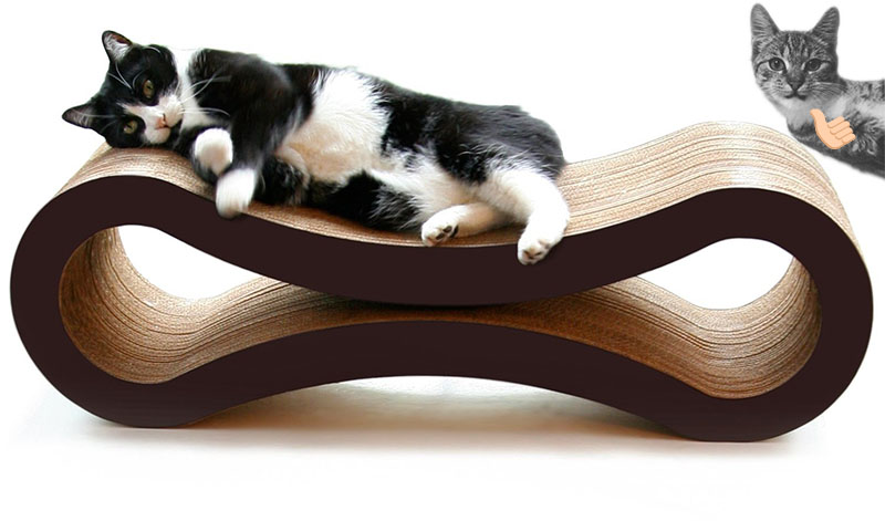 Cat Gifts for Cat Lovers No.2: Cat Scratcher Lounge