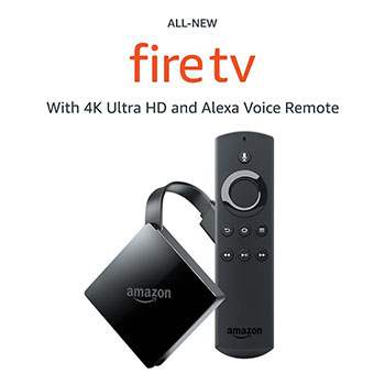 Best Vday Gift for Him No.7: All-New Fire TV with 4K Ultra HD