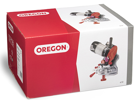 Oregon 410-120 for sharpening chainsaw chain.