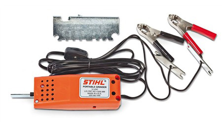 Stihl 12v portable chainsaw sharpener