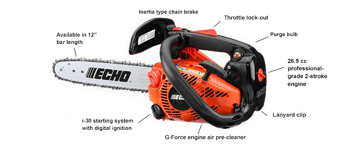 Best Small Gas Chainsaw No.7:Echo CS-271T