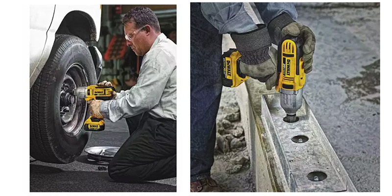 Image 1: Best Cordless Impact Wrench For Lug Nuts - Dewalt