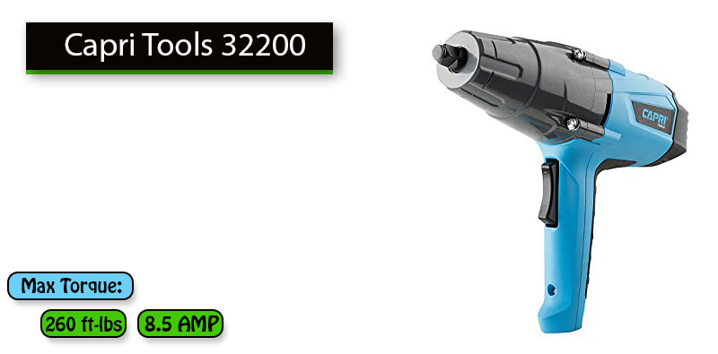 Best Impact Wrench Under 100 dollars No.2: Capri Tools 32200