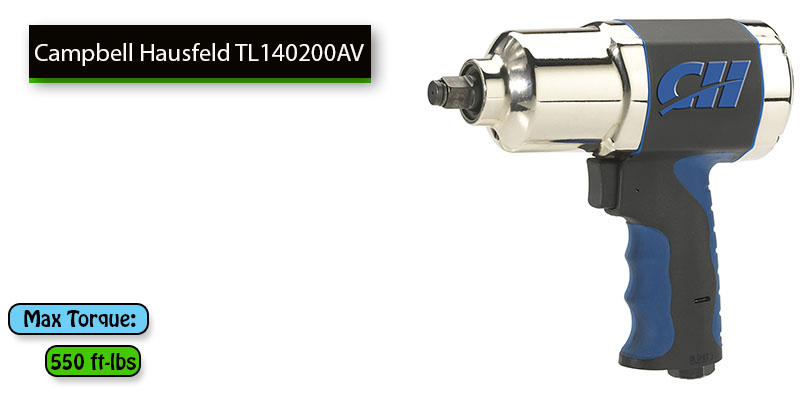 Best Air-Powered Impact Wrench Under 100 dollars - Campbell Hausfeld TL140200AV