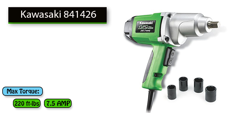 Best Impact Wrench Under 100 dollars No.3: Kawasaki 841426