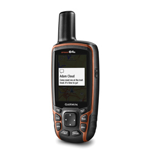 Best Hiking GPS No.3: Garmin GPSMAP 64s - Best Handheld GPS for: hiking, biking, fishing and walking - Price Under $300
