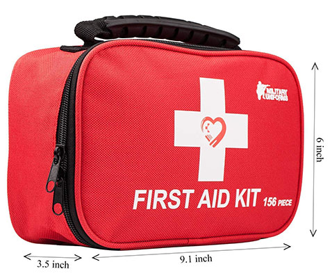 Hiking and Camping First Aid Kit