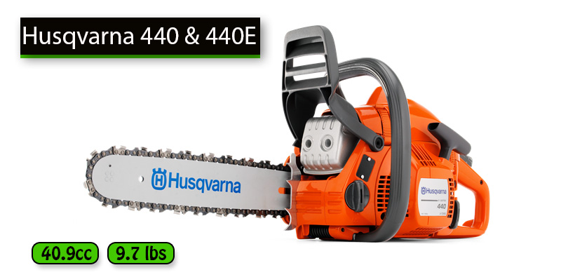 Best Gas Chainsaw Under 300 dollars No.2: Husqvarna 440 and 440E
