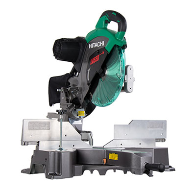 Best Sliding Compound Miter Saw No.1: Hitachi C12RSH2 12-Inch