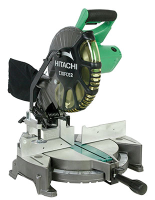 Best Budget Miter Saw No.1: Hitachi C10FCE2