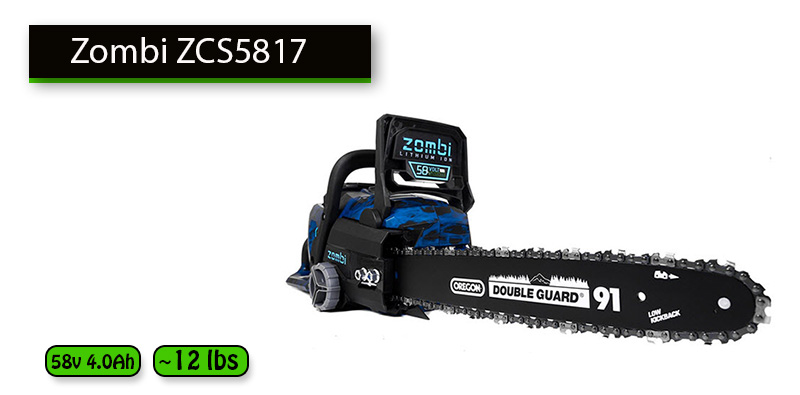 Best Chainsaw Under 300 dollars No.4: Zombi ZCS5817