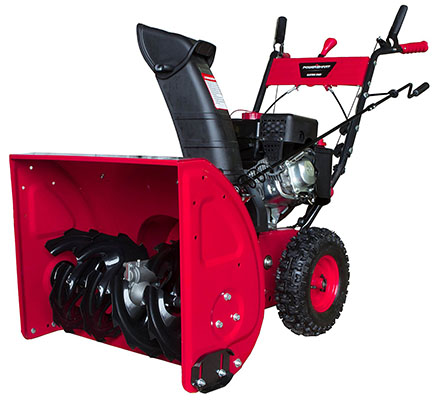 Best Self-Propelled Snow Blower No.1: Power Smart DB7651