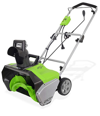 Best Snow Blower on the Market No.2: GreenWorks 2600502