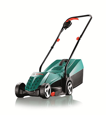 Best Electric Lawn Mower in the UK No.4: Bosch Rotak 32R - Price: under 100
