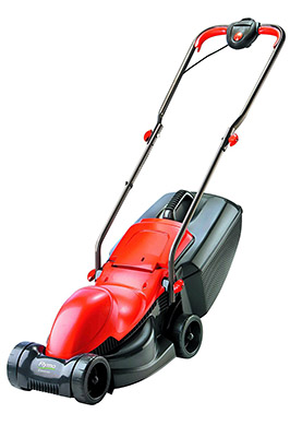 Best Electric Lawn Mower in the UK No.3: Flymo Easimo - Small Lawn Mower
